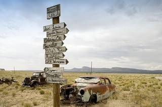 Arizona, Route 66, abandoned