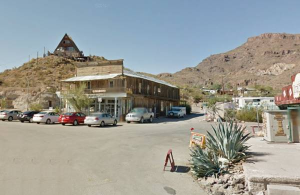 Former Soda Fountain today is the Glory Hole, Oatman AZ
