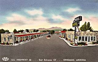 The bell motel old photo