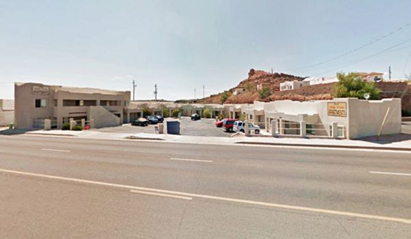 The former Brandin' Iron Motel today is an apartment complex, Kingman AZ