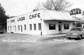 Casa Linda in a 1950s postcard