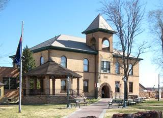 Navajo County Historic Courthouse, Holbrook AZ