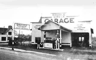 1938 view of Double Circle garage, Flagstaff