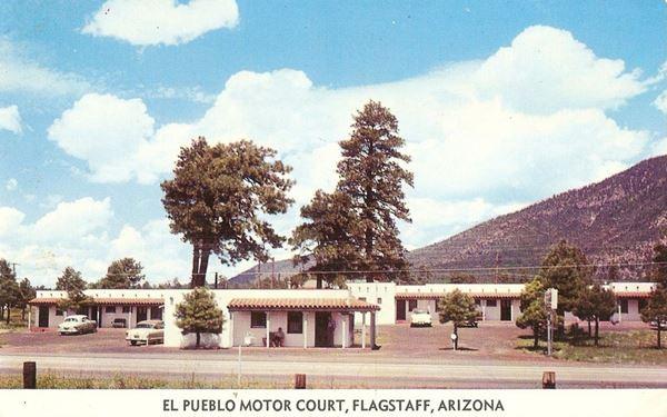El Pueblo Motor Court, Flagstaff Route 66, Arizona