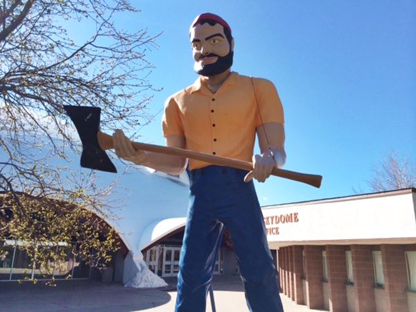 Muffler Man at the Northern Arizona University