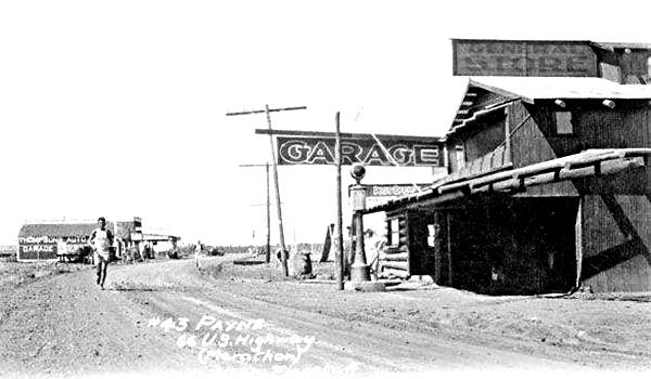 The 1928 Route 66 Footrace at Parks AZ