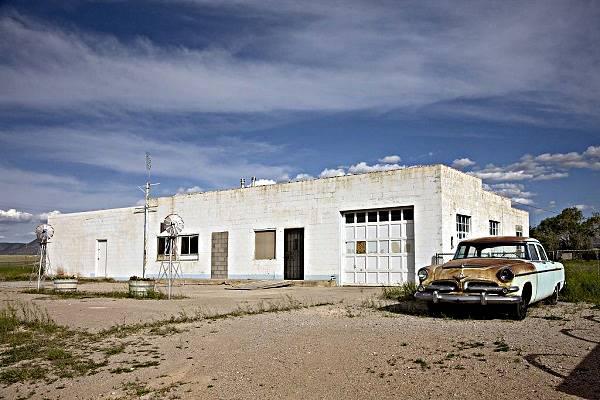 old gas station Truxton, Route 66, Arizona