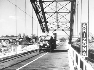 Tropock Bridge, in a trailer image from Grapes of Wrath