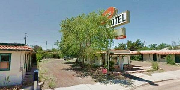 The Hi-Line Motel today,Ash Fork AZ