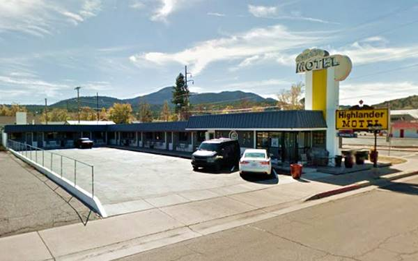 The Highlander Motel today,Williams AZ