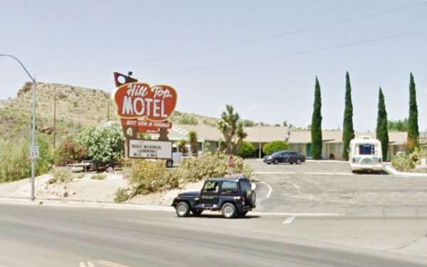 The Hill Top motel today,Kingman AZ