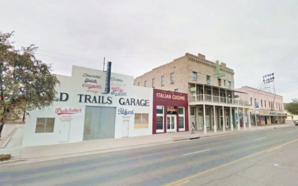 Downtown Kingman and Route 66 as it looks today