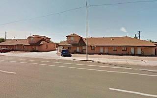 Present view of the La Siesta motel, Winslow Arizona
