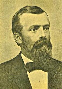 photo of Mr. Lewis Kingman taken in 1885
