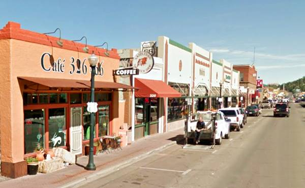 Downtown, Route 66 is the Main Street, as it looks today, Williams AZ