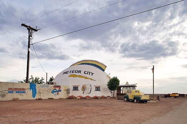 Meteor City trading Post in its better days