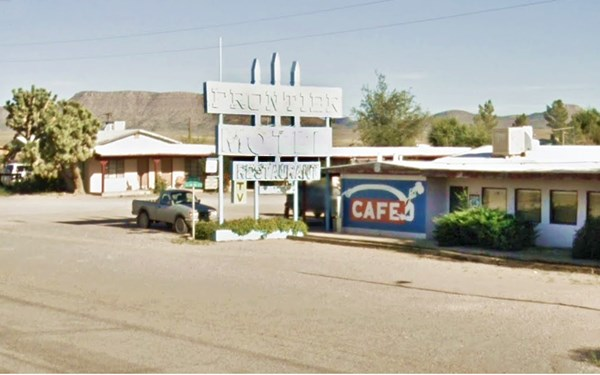 Frontier Motel and Cafe in Truxton AZ