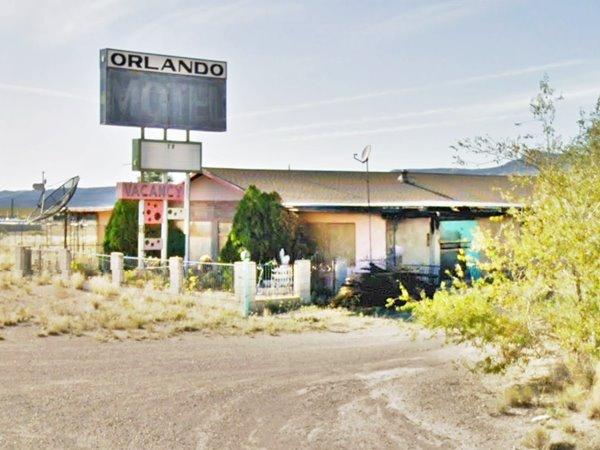 Orlando Motel on Route 66 today