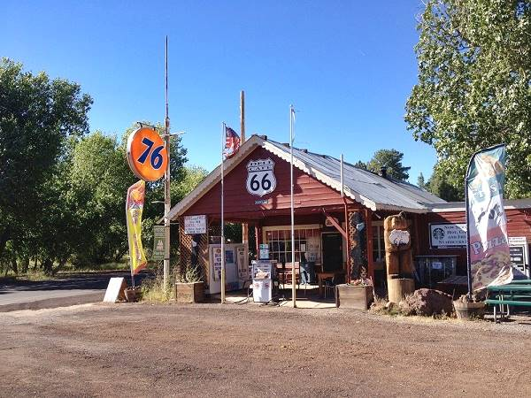 Route 66: Parks, Arizona Parks General Store (Deli Cafe)/