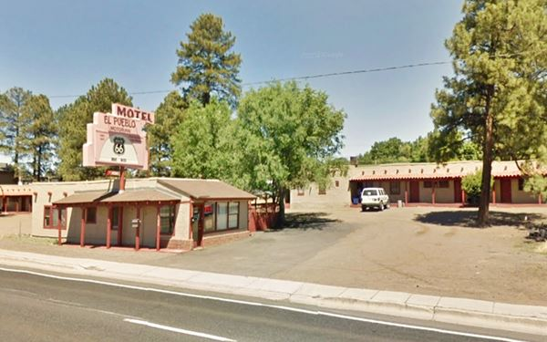 El Pueblo Motor Court nowadays, Flagstaff Route 66, Arizona