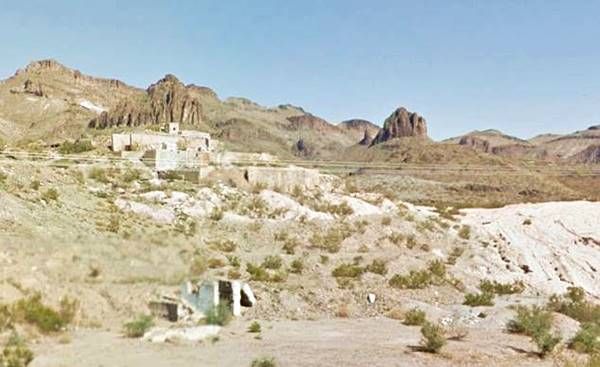 The Tom Reed mine as it appears today in Oatman AZ