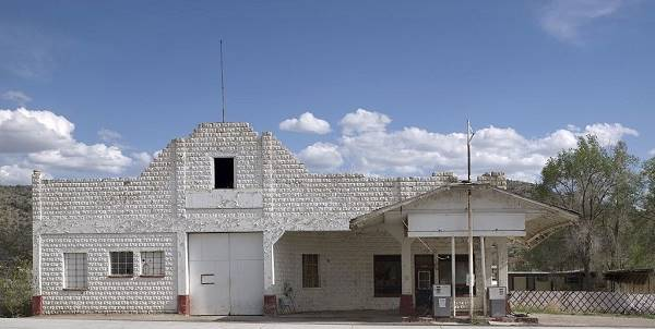 Osterman historic Shell station in Peach Springs, Route 66, Arizona