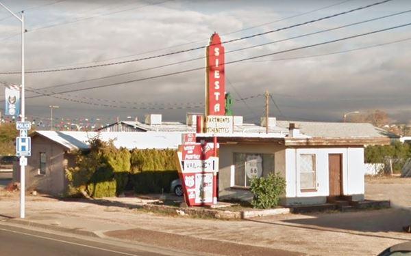 The Siesta Motel today,Kingman AZ