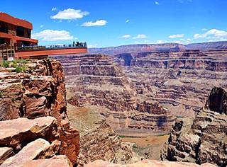 Skywalk on the Grand Canyon