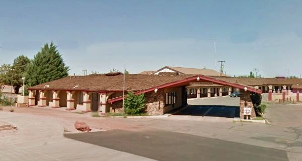 present appearance of former Town House Lodge on Route 66 in Winslow, AZ