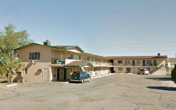 present appearance of former Travel Lodge Motel on Route 66 in Winslow, AZ