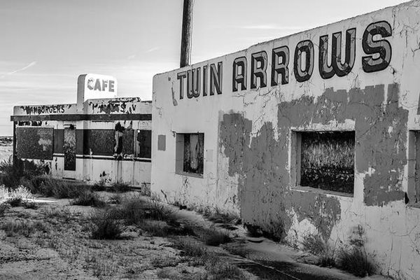 Twin Arrows Trading Post on Route 66, AZ