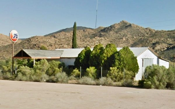 The Union 76 service station in Valentine AZ