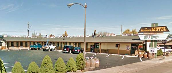 The Westerner Motel today,Williams AZ