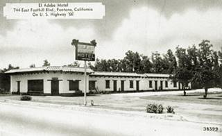 Current view of the Adobe Motel