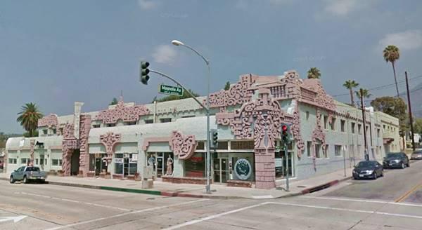 Monrovia Route 66 California