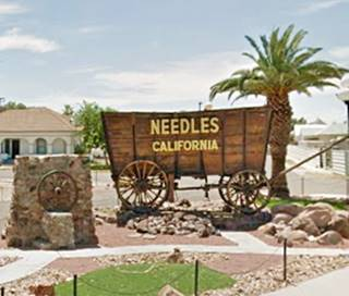The Welcome wagon in Needles