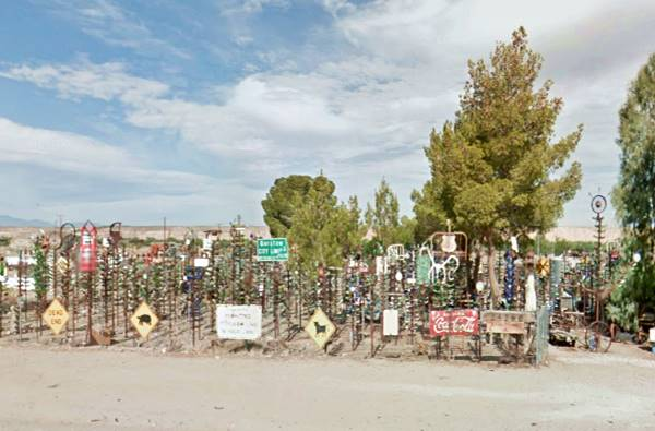 The Bottle Ranch near Helendale on Route 66