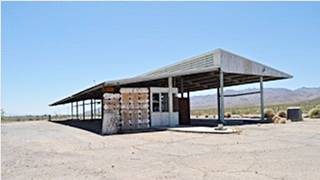 The inspection station now, at Daggett CA