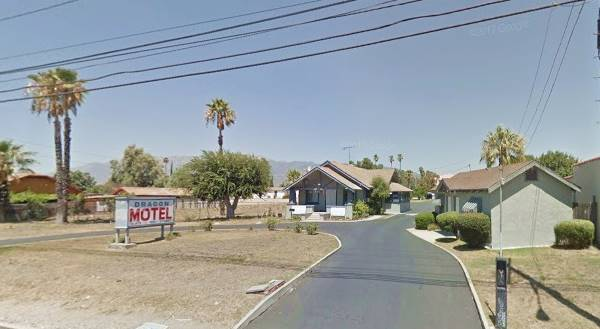 present appearance of the Dragon Motel in Fontana