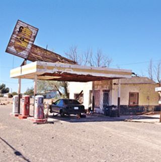 Whiting Brothers Service Station, now Dry Creek, in Newberry Springs
