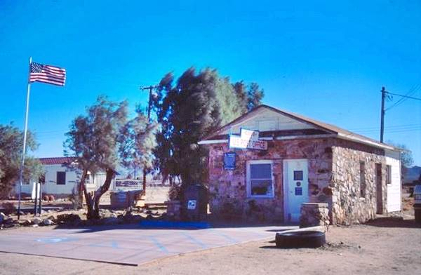 Post Office at Essex, California