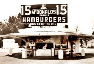 First Mc Donalds restaurant