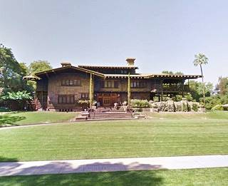 present appearance of the The Gamble House in Pasadena