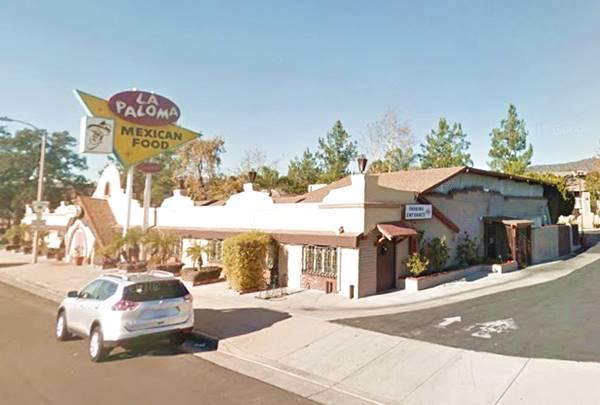 The La Paloma restaurant on Route 66 in La Verne