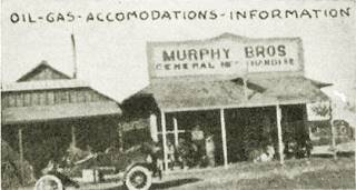 A 1913 photo of Murphy Brothers Store in Ludlow CA
