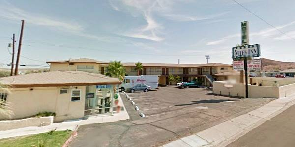 Travelodge today: a Nites Inn Motel on Route 66 in Barstow