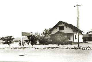 Post Office At Ludlow Ca 1920s
