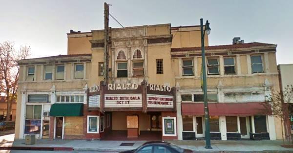 Historic Rialto Theatre in South Pasadena, Route 66 California
