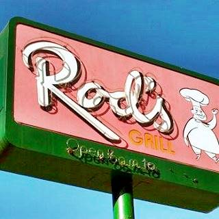 Rod's Grill neon sign, Arcadia