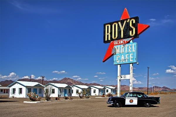 Roy's Cafe Motel in Amboy, Route 66 California